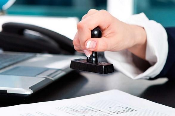 Регистрация изменений, печать, заключение договора