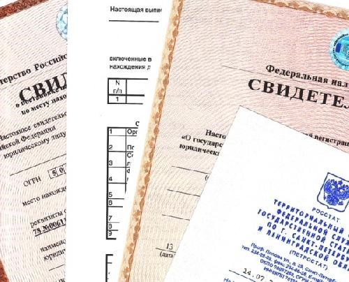 Регистрация изменений, печать, свидетельство ФНС, Федеральная налоговая служба