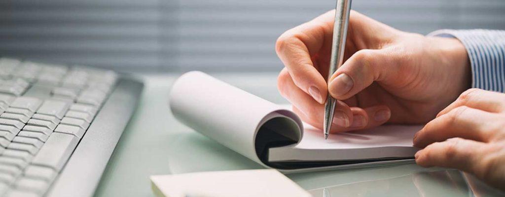 внесение изменений в учредительные документы некоммерческих организаций, записи в блокноте
